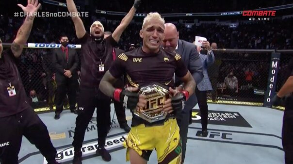 UFC 262 Charles Do Bronx vence Micheal Chandler é o novo campeão peso-leve