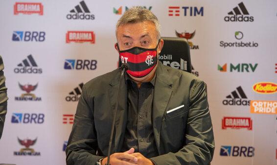 Dome teve passagem curta no Flamengo.