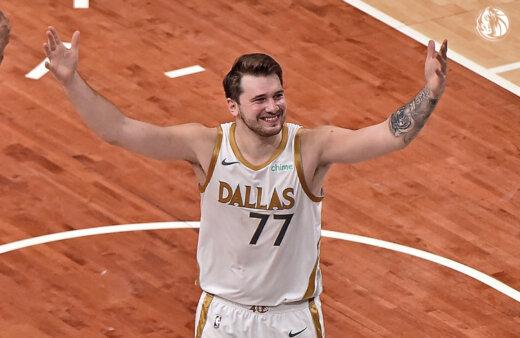 Luka Doncic, astro do Dallas Mavericks, tem influenciado a escolha dos nomes das crianças estadunidenses