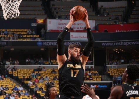 Vitória do Grizzlies contra o Spurs na NBA