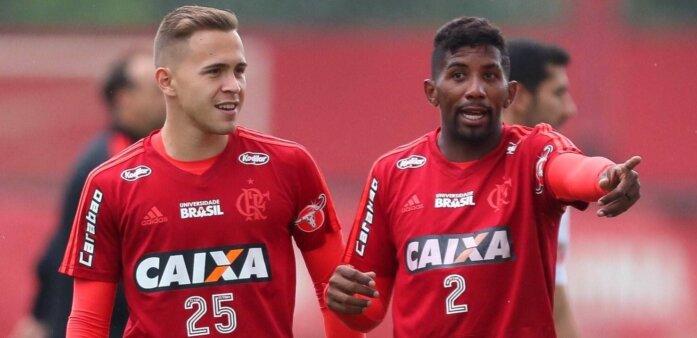 Piris da Motta em ação pelo Flamengo