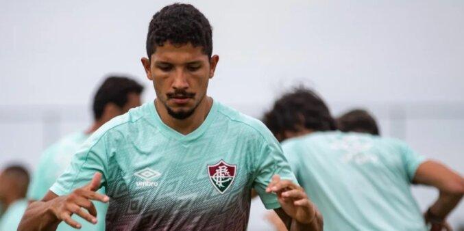 Yuri Oliveira em ação pelo Fluminense
