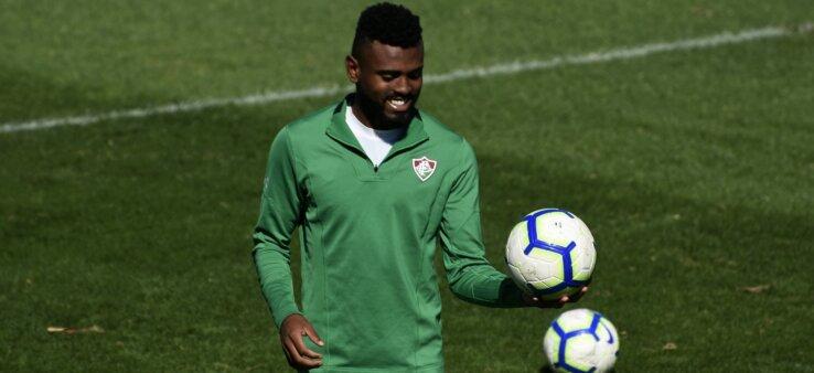 Caio Vinícius em ação pelo Fluminense