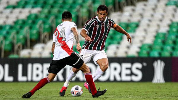Fluminense entra em campo na Libertadores.