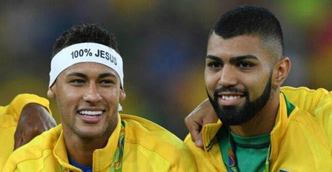 """Gabigol faz convite para Neymar jogar no Flamengo: """"Te esperando"""""""