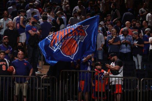 Torcedores do New York Knicks, da NBA