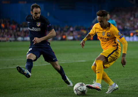 Juanfran, Neymar