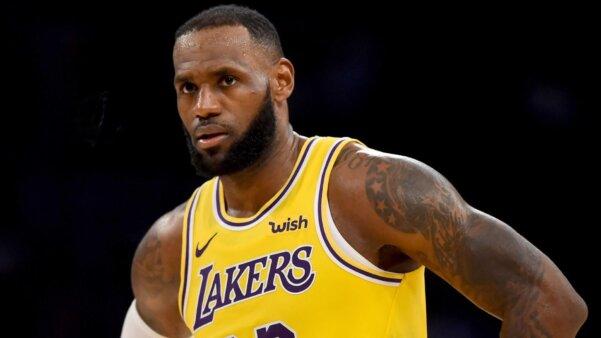 LeBron James, ala do Los Angeles Lakers