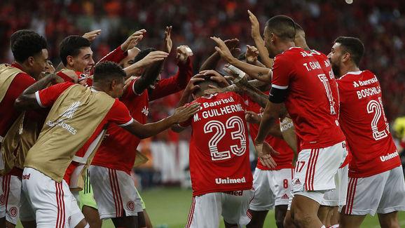 Mercado da bola Santos Internacional Marcos Guilherme