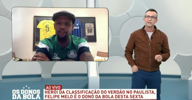 Neto falou sobre Felipe Melo.
