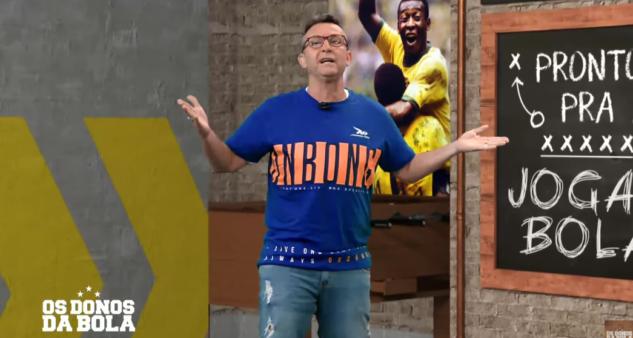 Neto cobrou convocação de atletas do Flamengo.