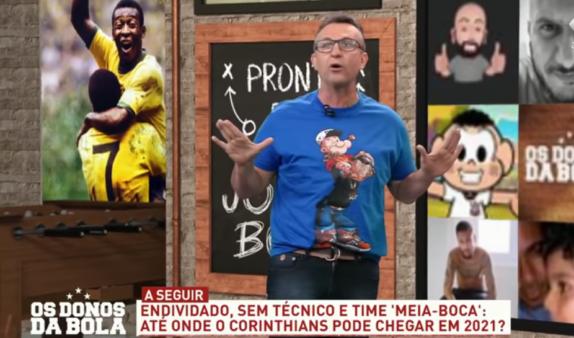 Neto alertou Renato Gaúcho.
