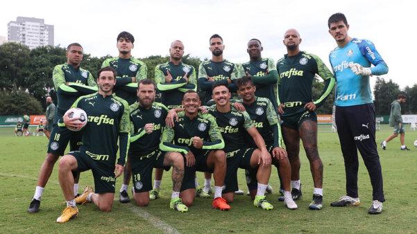 Palmeiras se prepara visando jogo contra a Ponte Preta.
