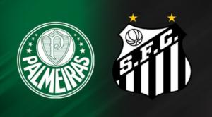Palmeiras x Santos ao vivo
