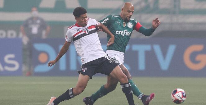 Palmeiras e São Paulo se enfrentam no Paulista.