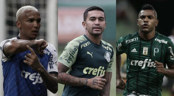 Dudu, Borja, Deyverson, Palmeiras