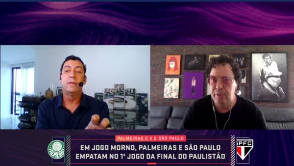 PVC e Casagrande discutiram.