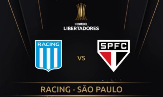 Racing x São Paulo ao vivo