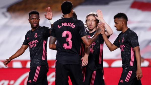 Real Madrid escalação