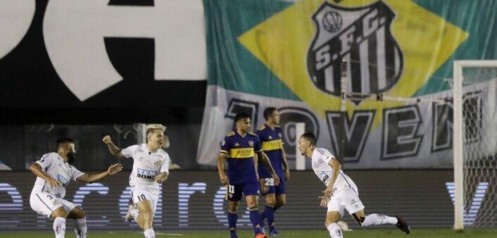 Santos x Boca Juniors Tempo real Libertadores AO VIVO