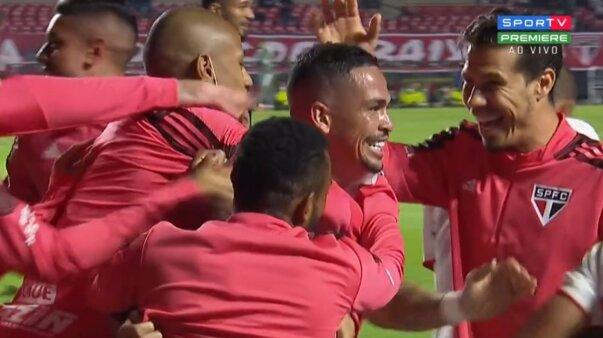 São Paulo x Palmeiras, gols