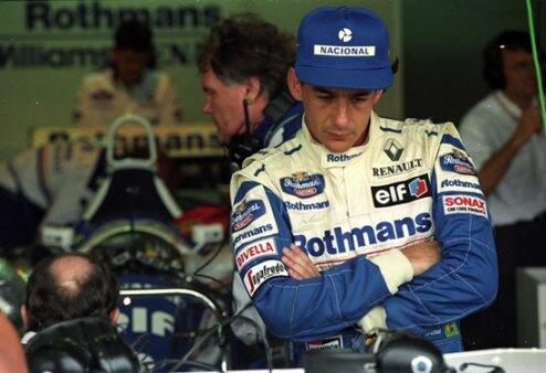 Ayrton Senna morreu no GP de Imola, em 1994