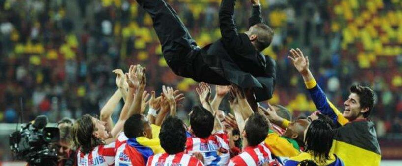 Diego Simeone já é uma das maiores estrelas da história do Atlético de Madrid