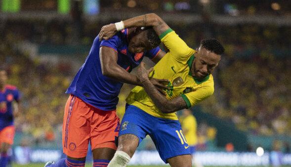 Brasil x Colômbia - Neymar - Copa América