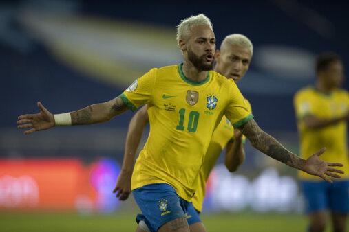 Neymar na seleção brasileira copa américa