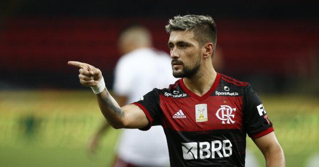 Arrascaeta é um dos destaques do futebol brasileiro.