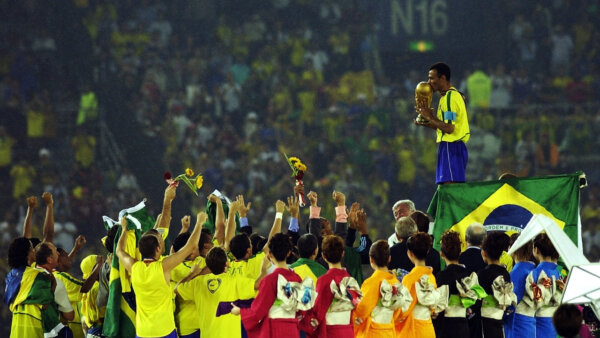 Brasil conquistou o penta da Copa do Mundo em 2002