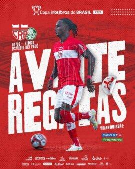 CRB x Palmeiras: Acompanhe o jogo em tempo real da Copa do Brasil 2021