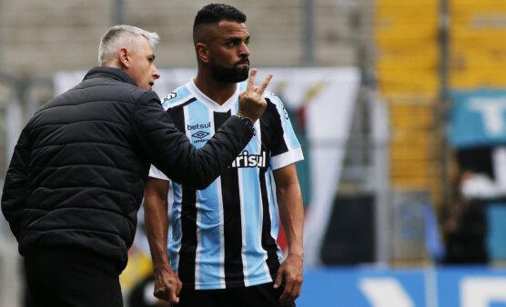 Desfalques Grêmio Santos Brasileirão