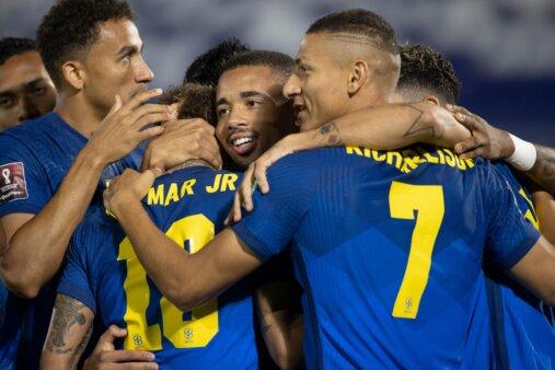 Brasil 2-0 Paraguai