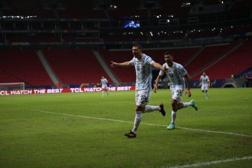 Argentina 1-0 Uruguai