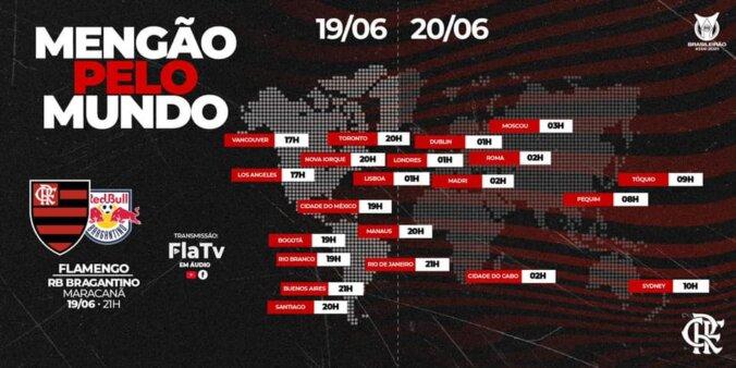 Flamengo x Red Bull Bragantino