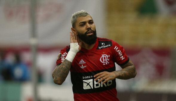 Gabigol é um dos destaques do Brasileirão.