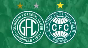 Guarani x Coritiba assistir