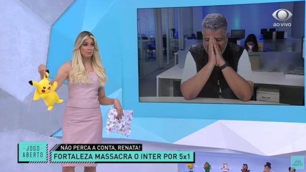 Renata Fan no Jogo Aberto - Inter