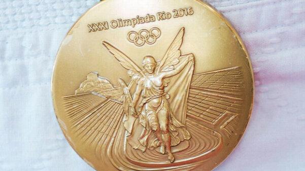 Medalha de ouro dos Jogos Olímpicos do Rio de Janeiro 2016