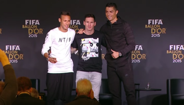 Neymar estará na Copa América.