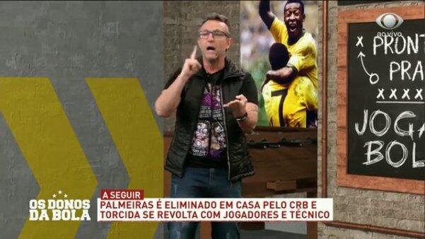 Neto detona Abel Ferreira Palmeiras
