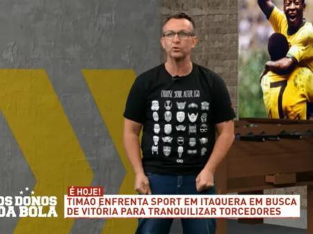 Neto detona treino de goleiros do Corinthians