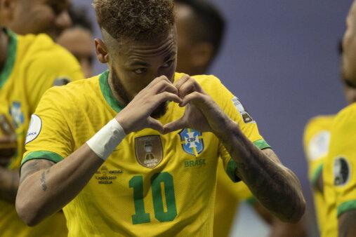 Neymar, Copa América