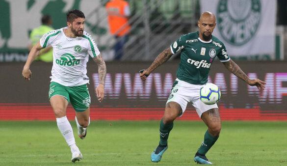 Palmeiras encara a Chapecoense.