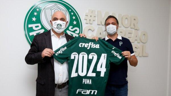 Palmeiras e Puma