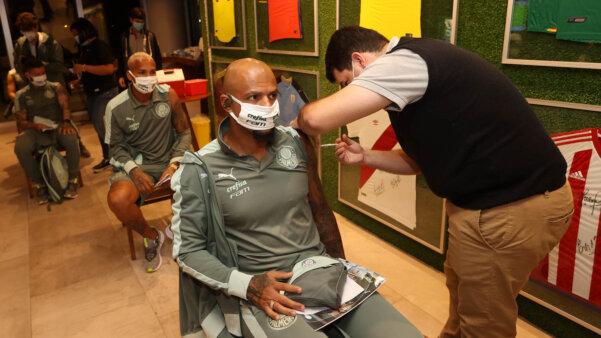 Palmeiras vacinação covid-19