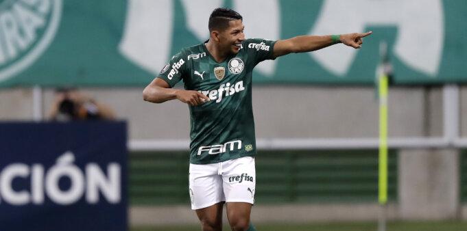Jogador Rony pode ser vendido pelo Palmeiras.