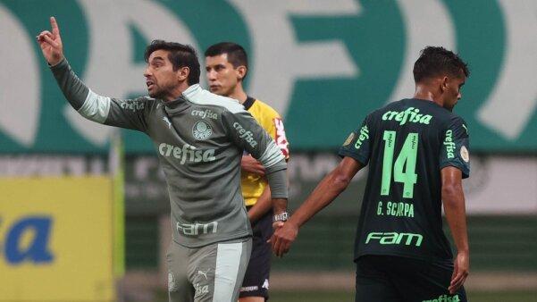 Scarpa e Abel Ferreira - Palmeiras
