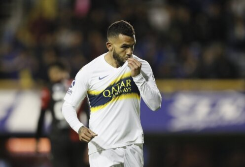 Tevez, Boca Juniors
